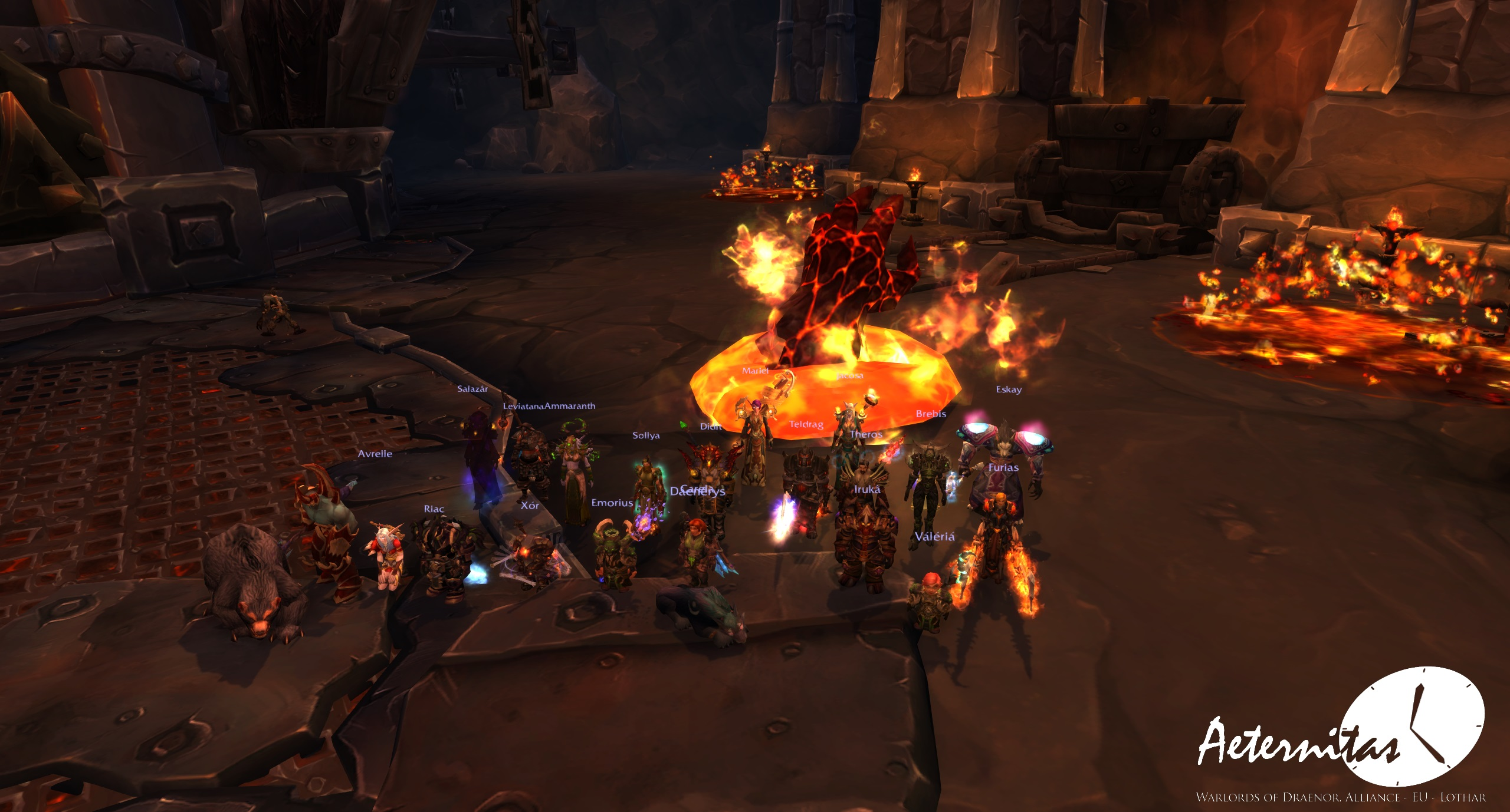 blackrock foundry iron maidens how to start the fight